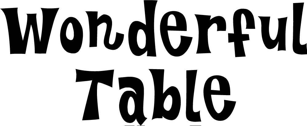 Wonderful Table